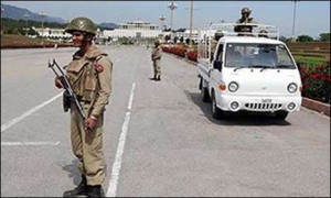 ISLAMABAD: The Federal Capital is on red alert following intelligence ...