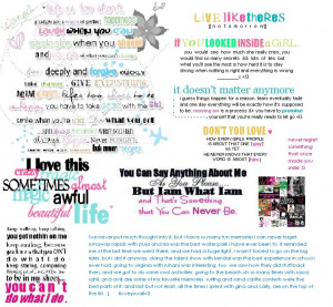 Girly Quotes Image