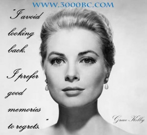 Grace Kelly & 3000BC...what a combo!