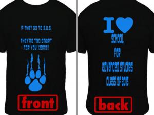 Junior class t shirt slogans