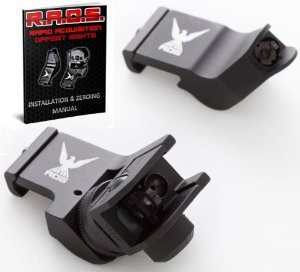 45 Degree Offset Iron Sights for AR 15