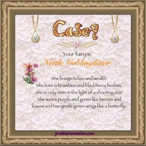 Casey Fairy Name