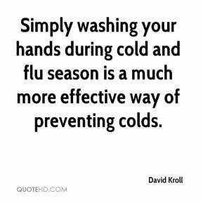 David Kroll - Simply washing your hands during cold and flu season is ...