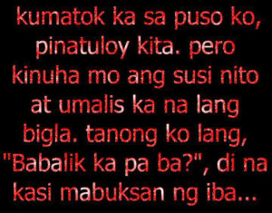 Love Quotes Tagalog 2012 Sweet