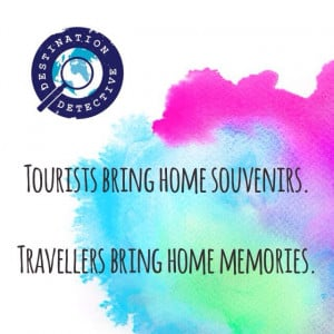 Quote of the day. Tourists vs Travellers #travel #quotes #travelquotes ...