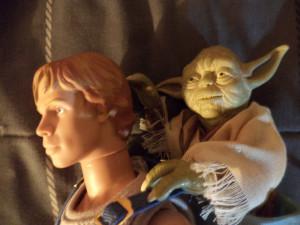 Star Wars Yoda And Luke Star wars luke skywalker y