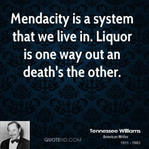 Tennessee Williams Death Quotes