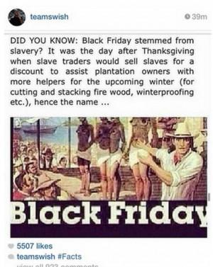... Smith links 'Black Friday' to slavery in bizarre Instagram post
