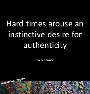 desire for authenticity