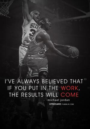 michael jordan work