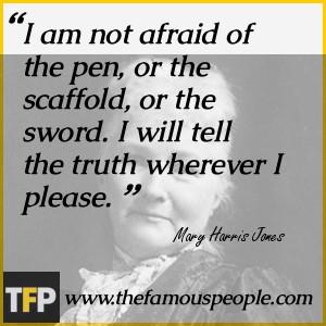 Mary Harris Jones Quotes