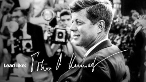 "... ""--provides a roadmap to former U.S. president John F. Kennedy"