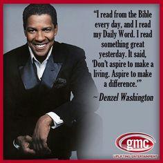 Denzel Washington More