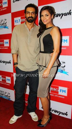 Arjun Rampal, Esha Gupta at the music launch of Chakravyuh