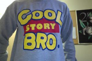toy story Cool Story Bro sweatshirt kush and wisdom