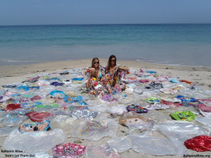 These girls clean up some of our local beaches(fl). They're trying ...