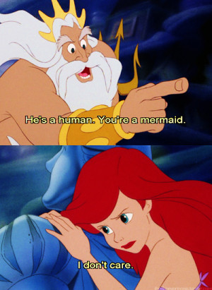 Disney Love Quotes Little Mermaid For disney princess love.