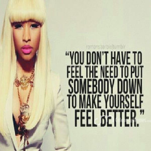 Nicki Minaj Quotes About Haters
