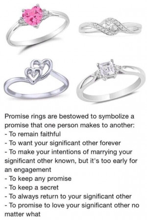 Promise Ring Quotes