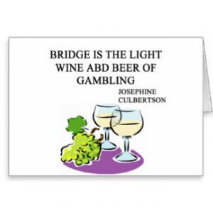 Bridge Quotes Card