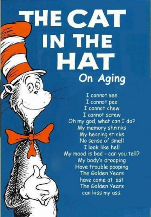 Cat In Hat on Aging