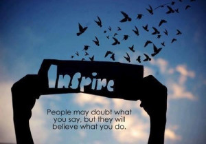 Love to inspire and be inspired