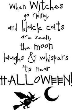 ... wall decal halloween quotes halloween wall halloween ideas black cat