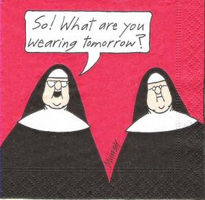 ... Catholic Nun, Catholic Schools Humor, Funny Stuff, Catholic Faith