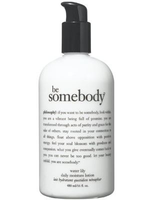 Philosophy Skin Care Quotes Philosophy be somebody water