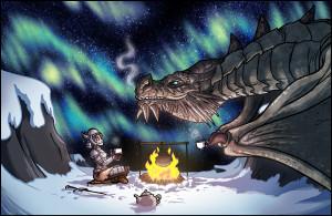 Skyrim - Dragon Tea by TomPreston