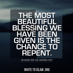 if you don t repent now then when