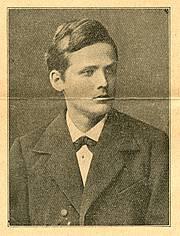 Wilhelm Wien als Student Quelle Deutsches Museum