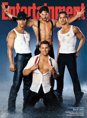Video: 'Magic Mike' Cast Covers 'EW'