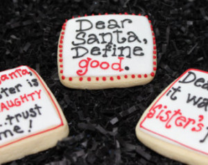 ... Cookies, Christmas Sayings, Sister Gift, Brother Gift, Decorated Sugar