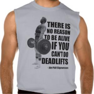 Deadlift Gym Lifting Motivation Sleeveless T-shirt