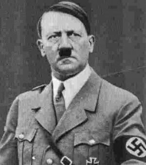 Adolf Hitler Inde nazi efféminés Gange armée télé programme JTW ...
