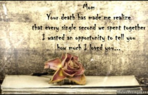 Sad Quotes About Losing A Parent ~ Death Messages | WishesMessages.
