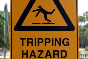 Funny Humor Tripping Warning Zombie Favim Large