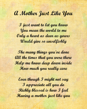 love my mom and so love this i love you mom poems poems about family