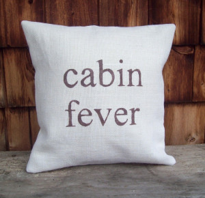 Pillow Cover...cabin fever 16 x 16 by North Country Comforts / Cabin ...