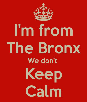 from The Bronx We don't Keep Calm