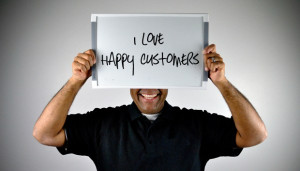 ... from a customer – it lets you know you're doing the right thing