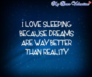 Sayings about Sleeping