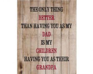 Fathers Day Quotes For Grandpa Father's day grandpa print-