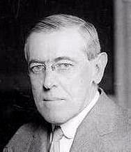 Woodrow Wilson - U.S. President during World War I