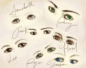 Da daa obsession with drawing eyes showing.kajlfgjkj I can't be ...