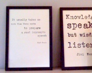Quote Frames home-decor