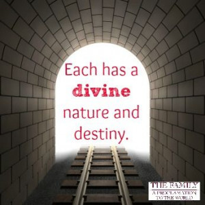 Divine Nature and Destiny, from