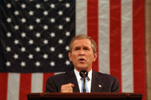 ... president george w bush declared the opening of the war on terror