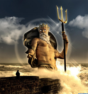 Poseidon Greek God Quo...